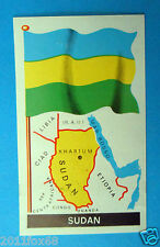 figurines stickers picture cards figurine bandiere del mondo 75 sudan la folgore