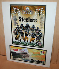 2005 STEELERS Heinz Field US Postal Service Print Super Bowl XL Champs