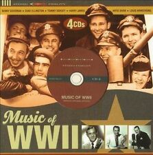 Music Of WWII [Box] by Various Artists (CD, 2011, 4 Discs, Sonoma Entertainment)