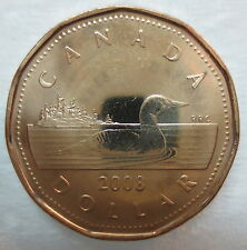 CANADA 2008 LOONIE BRILLIANT UNCIRCULATED DOLLAR