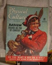 Physical Culture March 1940 Vera Zorina Dr. Miller Rock Island IL Lana Turner