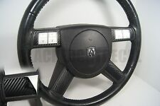 Dodge Charger / Chrysler 300 Carbon Fiber Steering Wheel Spoke Decal Cover
