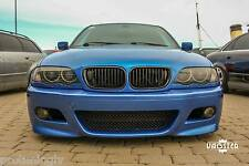 BMW e46 97-05 3 series Front BUMPER M3 M look sport abs 2D 4D coupe cabrio limo