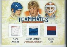 2016-17 President's Choice Teammates MESSIER / GRETZKY / FUHR Triple Jersey 3/5
