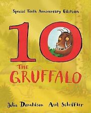 NEW  the GRUFFALO (SPECIAL EDITION ) GOLD paperback book by Julia Donaldson