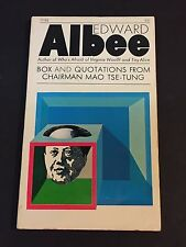 Edward Albee Box and Quotations from Chairman Mao Tse-Tung Signed Autograph Book