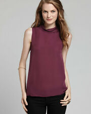 NWT $208 JOIE Etienne Sleeveless Top in color Purple Size X-Small