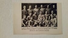 Franklin and Marshall College 1908 Football Team Picture VERY RARE