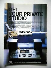 PUBLICITE-ADVERTISING :  ZOOM MultiTrak MRS-1044  05/2002 Enregistreur numérique