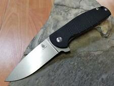 "Kizer Gemini Linerlock Black G10 Folding Knife VG-10 7"" Stonewashed EDC V3471A1"