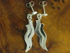 925 Sterling argento orecchini/orecchini/orecchini/in puro argento/3,2g