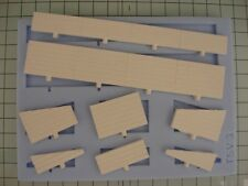 Linka Compatible Concrete / Timber Sidings  - OO Gauge Railway Scenery