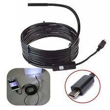 3.5 M Android endoscope endoscope étanche caméra d'inspection 6 LED Micro USB EH