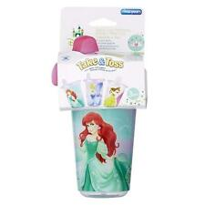 The First Years Disney Princess Girl's Take & Toss 10oz Sippy Cups 3 Pack NEW