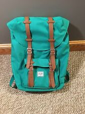 Herschel Supply Co Little America Mid Volume  Backpack Emerald Green