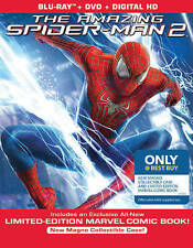The Amazing Spider-Man 2 (Blu-ray/DVD, 2014, Ultraviolet Only  Best Buy Comic Bo