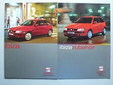 Prospekt Seat Ibiza, 4.2001, 32 Seiten + 16 Seiten Zubehör