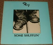 MUSIC LIBRARY ROUGE some shufflin' RUBBA 1983 UK STEREO ELECTRONIC SYNTH LP