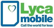 lycamobile official mobile sim card x 10