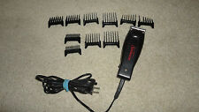 SUNBEAM Black Hair / Pet Clippers Type 059750-015-000 With 10 Combs Attachment