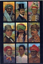 Costumes & Portraits•Syria•France•Java•Ireland•Servia•Siam•Sweden•POSTCARD
