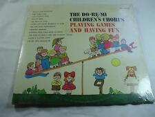 Do Re Mi Childrens Chorus - Playing Games & Having Fun - Sealed New - Free Ship