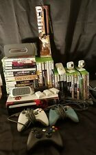 MICROSOFT XBOX 360 250GB and 20GB HARD DRIVE BUNDLE 65+ GAME LOT LEFT 4 DEAD