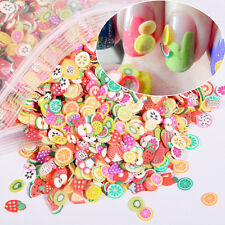 1000pcs/pack Mixed Style Feather Nail Art Resin Patch Fimo DIY Tips Decoration