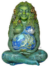 "Millennial Gaia - Mother Earth Goddess by Oberon Zell - Nature Goddess - 7"" Tall"
