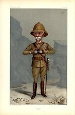 BRITISH SOLDIER FIELD MARSHALL LORD ROBERTS IN UNIFORM WITH SWORD BINOCULARS