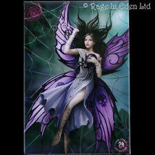 *SILK LURE* Goth Fantasy Spider Fairy Art Fridge Magnet By Anne Stokes (8x5.5cm)