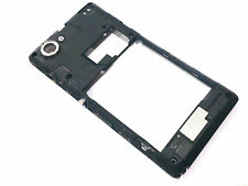 100% Genuine Sony Xperia L rear chassis+camera glass lens+side button+speaker