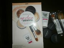BareMinerals Up Close & Beautiful Set in Light Value 30 Day Kit Mini Travel NIB