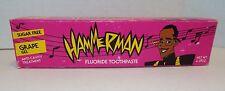 MC Hammer Hammerman Floride Toothpaste Unused Tube in Orig Box 1991 Funky Fresh