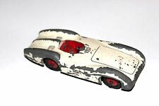 Dinky Toys White Mercedes Benz Racing Car # 237 With Red Hubs !!