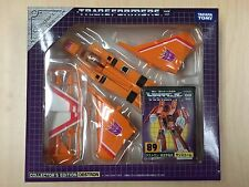 Takara TOMY Transformers Collector's Ed Destron 89 Sunstorm E-Hobby MISB Sealed