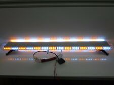 "Roof Mount 336 WATT 112 LED 60"" Inch Emergency Light Bar Amber White Tow Truck"