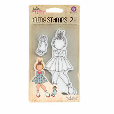 Julie Nutting  Doll Cling  Stamp - Adara
