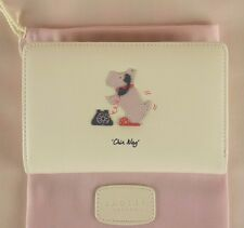 Radley Chin Wag Ivory Leather Bifold Purse Wallet Medium New