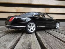 BENTLEY MULSANNE  BLACK - 1/18 RASTAR 43800