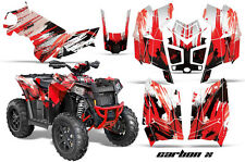 Polaris Scrambler 850/1000 AMR Racing Graphic Kit Sticker ATV Quad Decals CARBON