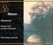 FREE US SH (int'l sh=$0-$3) NEW CD Jules Massenet, Freni, Pavarotti: Massenet: M