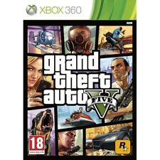 Grand Theft Auto V 5 cinco GTA 5-muy Bueno-XBOX 360 - 1st Class Delivery