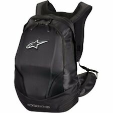 NEW ALPINESTARS CHARGER R BACKPACK BAG REFLECTIVE GEAR MOTORCYCLE BIKE BLACK