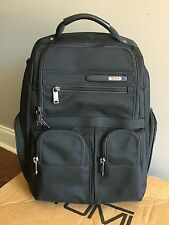 Tumi Alpha Compact Laptop Brief Backpack 263173 Black $495