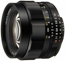 NEW Voigtlander Nokton 58mm F1.4 MF SL II Lens For for Nikon Ai-s Ais from JAPAN