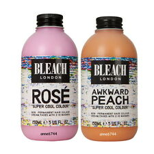 Bleach London Super Cool Colour - Rose 150ml + Awkward Peach 150ml