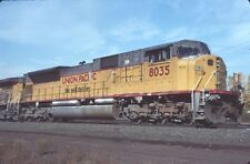 UP 8035 SD-90MAC (UNION PACIFIC) --- Original Slide T5-9