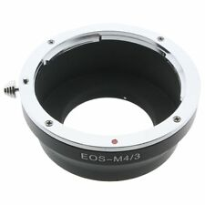 Canon EOS EF Adapter Objektiv lens micro m4/3 43 blackmagic pocket bmpcc gh2 gh3