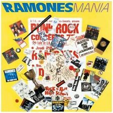 "CD 30T RAMONES ""MANIA"" 1988 ALLEMAGNE"